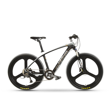S600 carbon brazing mountain bike